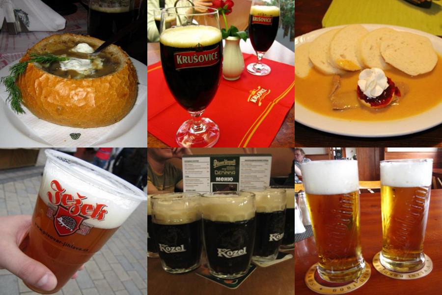 Чешское пиво и кухня