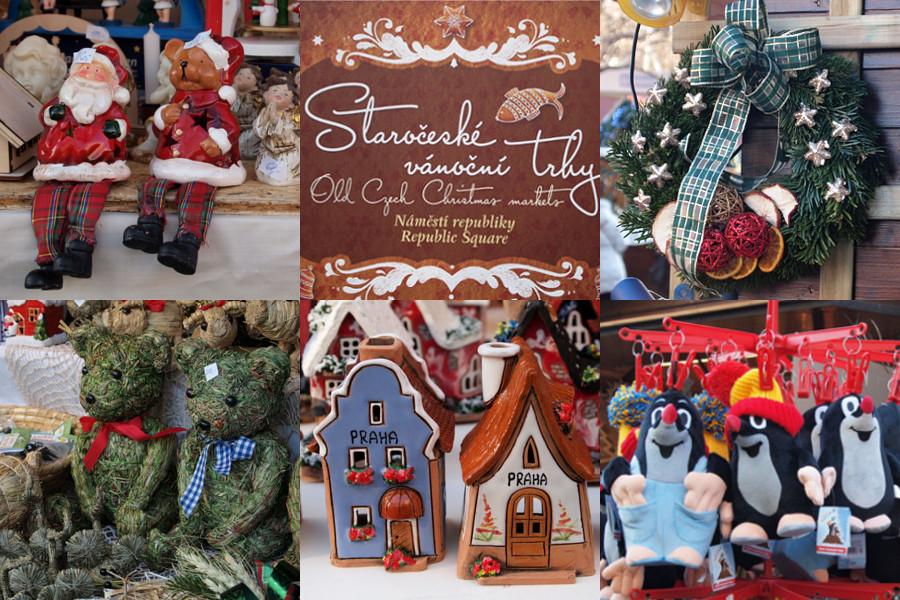 Рождественские ярмарки в Праге