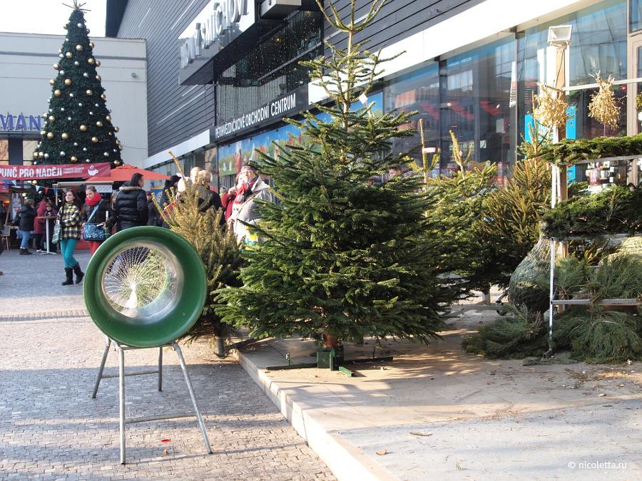 Рождественская ёлка в Праге