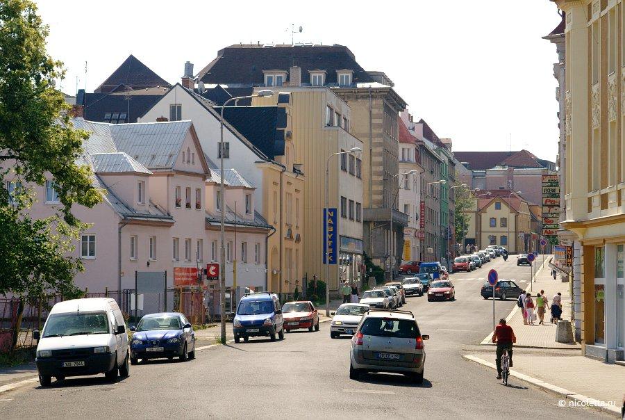 Румбурк — маленький городок в чехии