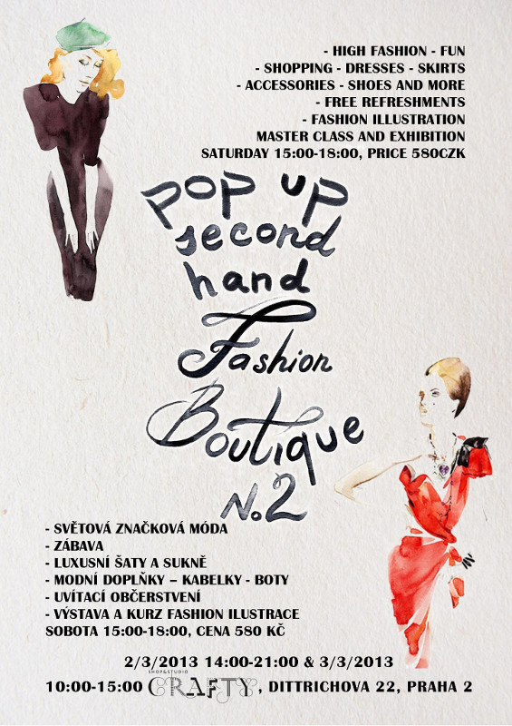 Pop Up Second Hand Fashion Boutique 2