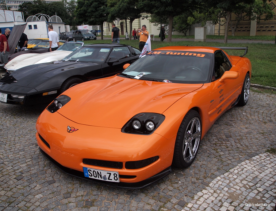 Встреча Corvette Club Prague