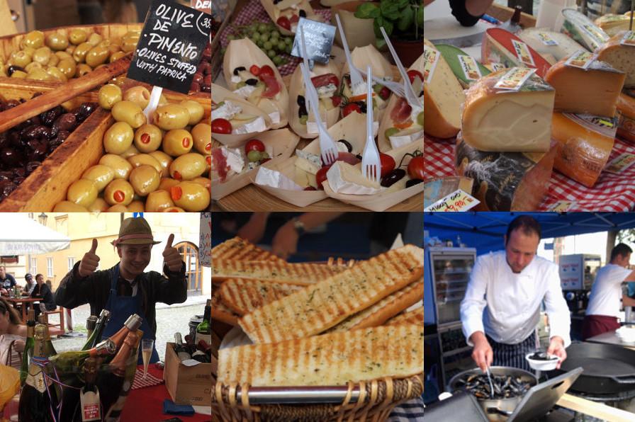 Французский рынок в Праге